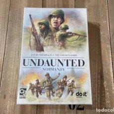 Giochi da tavolo: JUEGO WARGAME - UNDAUNTED NORMANDY - DO IT GAMES - EDICIÓN EN ESPAÑOL - PRECINTADO. Lote 247262280