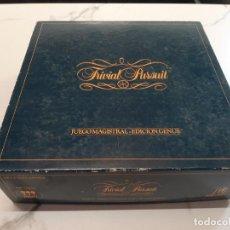 Juegos de mesa: TRIVIAL PURSUIT EDICION GENUS. Lote 215564741