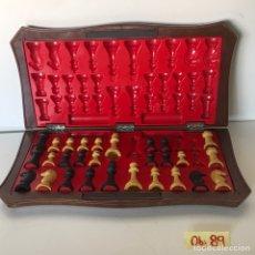 Juegos de mesa: JUEGO DE AJEDREZ INCOMPLETO. Lote 215817183