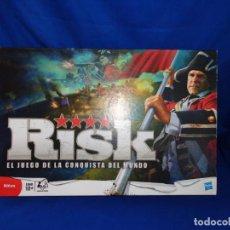 Jogos de mesa: RISK- COMO NUEVO, RISK COMPLETO AÑO 2010 FABRICADO POR HASBRO! SM. Lote 215949555