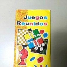 Juegos de mesa: MANUAL REGLAMENTO DE LOS JUEGOS REUNIDOS GEYPER, ESTUCHES NÚMERO Nº 10, 15 Y 25.. Lote 216395060