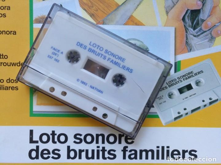 Juegos de mesa: LOTERÍA SONORA EN CASSETTE AÑO 1992 JUEGO DE MESA COMPLETO EN PERFECTO ESTADO CEFA EDUCA RIMA MB - Foto 3 - 216606145