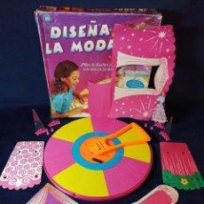 Juegos de mesa: JUEGO DISEÑA LA MODA,ANTIGUO DE HASBRO. Lote 216615833