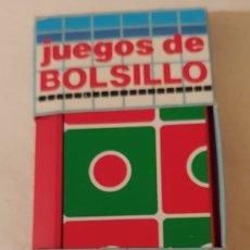 Juegos de mesa: JUEGO ANTIGUO TRES EN RAYA JUEGO DE BOLSILLOS MAGNÉTICOS MARCA CHICOO. Lote 217487126