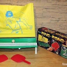 Jeux de table: ANTIGUO PING PONG PING, DE JUGUETES GRACIA - EN SU CAJA ORIGINAL Y FUNCIONANDO. Lote 217769272