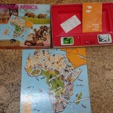 Juegos de mesa: ANTIGUO JUEGO SAFARI POR AFRICA DE DIDACTA AÑOS 70. Lote 218200352