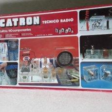 Juegos de mesa: SCATRON TECNICO DE RADIO JUEGO DE MESA AÑOS 80. Lote 218239981