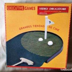 Juegos de mesa: JUEGO DESPACHO GOLF - EXECUTIVE GAMES - MERCHANDISING VIDEO DRUGSTORE. Lote 218317828