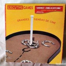 Juegos de mesa: JUEGO DESPACHO HERRADURA - EXECUTIVE GAMES - MERCHANDISING VIDEO DRUGSTORE. Lote 218318105