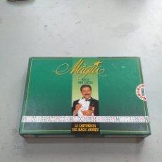 Juegos de mesa: MAGIA AMB CARTES, LA CARTOMAGIA DEL MAGIC ANDREU. JUEGO DE EDUCA 1992.VER FOTOS. Lote 218603986
