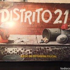 Juegos de mesa: JUEGO DE MESA - DISTRITO 21 - CEFA - COMPLETO . Lote 218641568