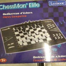 Juegos de mesa: AJEDREZ ELECTRONICO CHESSMAN ELITE. Lote 218646923