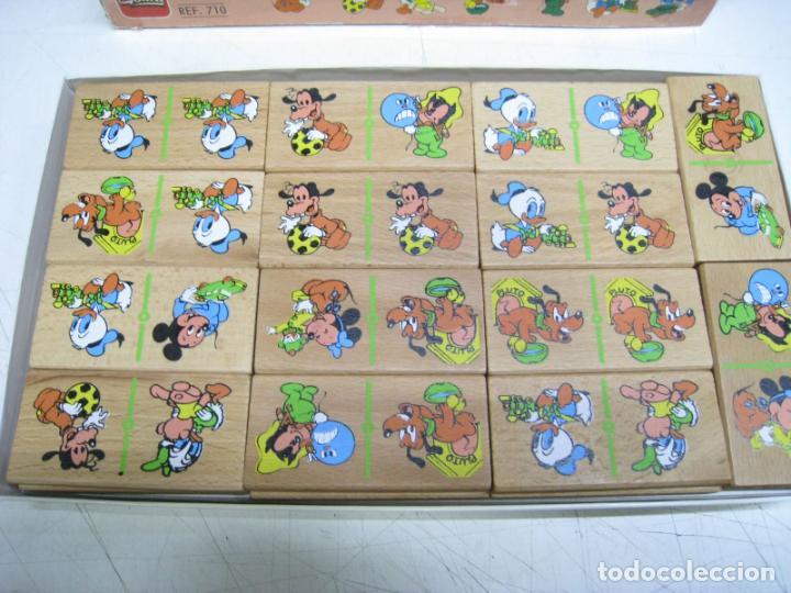 Juegos de mesa: DISNEY BABIES. DOMINO GRAFICO DE MADERA. JUEGO DE MESA. GOULA - Foto 2 - 218792966