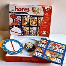 Juegos de mesa: JUEGO DE MESA INFANTIL LES HORES. Lote 218793782