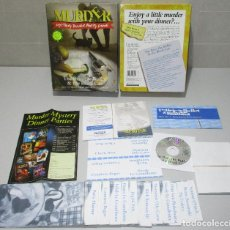 Jeux de table: JUEGO DE MESA MURDER A LA CARTE, THE BRIE, THE BULLET & THE CAT, BS RANDLE 2000. Lote 219615227