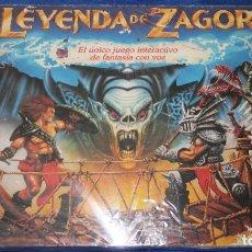 Juegos de mesa: LA LEYENDA DE ZAGORE - PARKER ¡MUY COMPLETO!. Lote 219708825