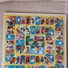 Juegos de mesa: JUEGO DE LA OCA Y PARCHIS AÑOS 70/80 MEDIDAS 39 X 39 CM.. Lote 220356231