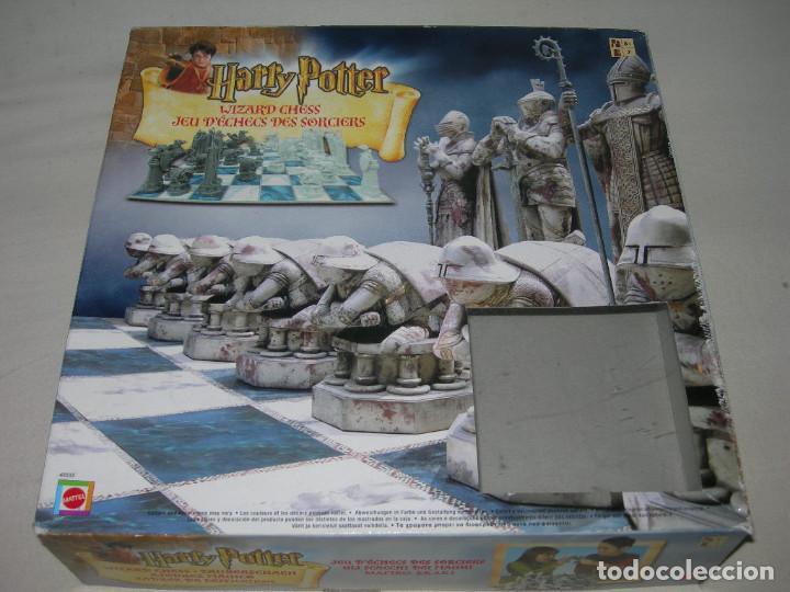 Juegos de mesa: FANTÁSTICO AJEDREZ MÁGICO DE HARRY POTTER COMPLETO CON SU CAJA ORIGINAL Y CON SUS INSTRUCCIONES - Foto 9 - 220618756