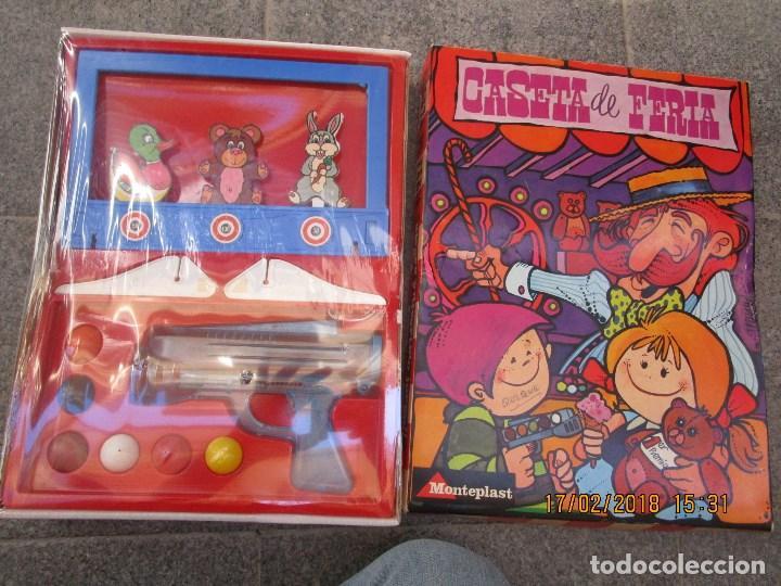 Juegos de mesa: MUY RARO JUGUETE CASETA DE FERIA ANTIGUO JUEGO REALIZADO EN ESPAÑA CON PISTOLA CAJA SIN ABRIR - Foto 18 - 220732311