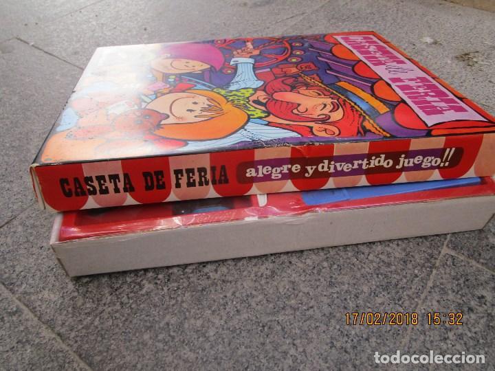 Juegos de mesa: MUY RARO JUGUETE CASETA DE FERIA ANTIGUO JUEGO REALIZADO EN ESPAÑA CON PISTOLA CAJA SIN ABRIR - Foto 12 - 220732311