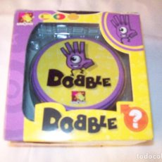 Juegos de mesa: JUEGO DE CARTAS DOBBLE - 5 JUEGOS EN 1 - MUY NUEVO - PARA JUGAR TODA LA FAMILIA. Lote 220957697