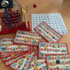 Juegos de mesa: LOTERIA BINGO. VINTAGE. PRECIOSO!!. Lote 221139432