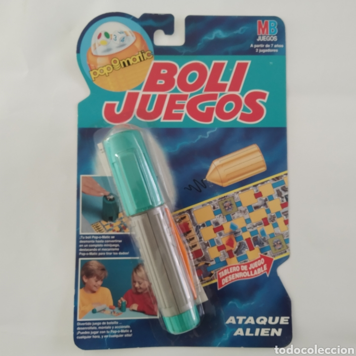 ATAQUE ALIEN, BOLI JUEGOS POP-O-MATIC DISTRIBUIDO POR MB JUEGOS, FABRICADO POR HASBRO, AÑO 1992 (Juguetes - Juegos - Juegos de Mesa)