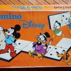 Juegos de mesa: JUEGO DOMINÓ DE DISNEY - BORRÁS - FICHAS DE PLÁSTICO. Lote 221329220
