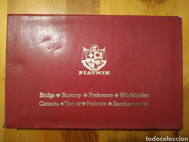 Juegos de mesa: 7 Barajas cartas PIATNIK 1976 Viena Bridge Rummy Preference Wufelpoker Canasta Patience sambacanasta - Foto 2 - 221390387