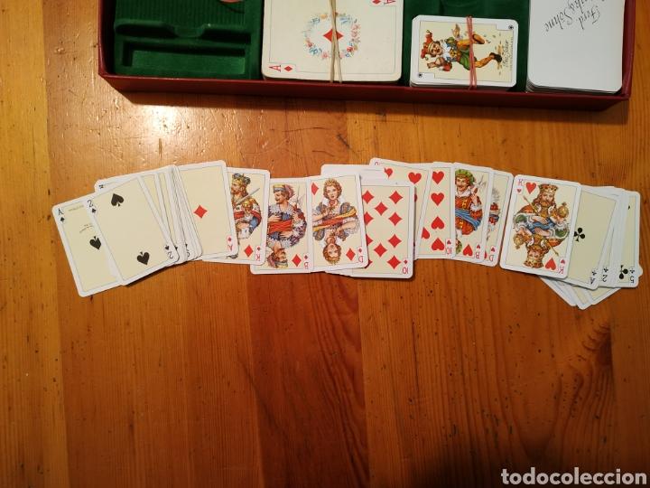 Juegos de mesa: 7 Barajas cartas PIATNIK 1976 Viena Bridge Rummy Preference Wufelpoker Canasta Patience sambacanasta - Foto 3 - 221390387