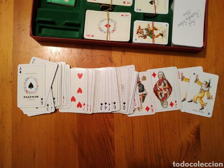Juegos de mesa: 7 Barajas cartas PIATNIK 1976 Viena Bridge Rummy Preference Wufelpoker Canasta Patience sambacanasta - Foto 4 - 221390387