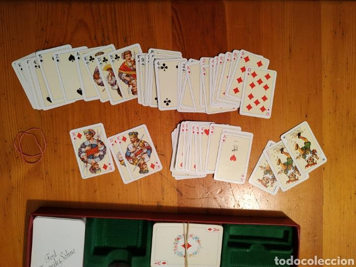Juegos de mesa: 7 Barajas cartas PIATNIK 1976 Viena Bridge Rummy Preference Wufelpoker Canasta Patience sambacanasta - Foto 8 - 221390387
