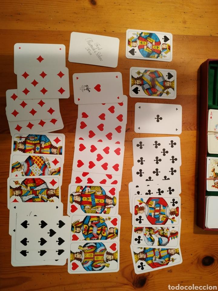 Juegos de mesa: 7 Barajas cartas PIATNIK 1976 Viena Bridge Rummy Preference Wufelpoker Canasta Patience sambacanasta - Foto 9 - 221390387