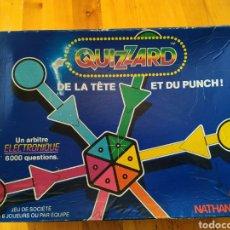 Juegos de mesa: JUEGO QUIZZARD DE LA CABEZA AL PUÑO DE NATHAN DE LA TETE ET DU PUNCH EN FRANCÉS. Lote 221438313