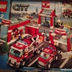 Juegos de mesa: JUEGO DE MESA LEGO CITI 7945 CAJA ROTA. Lote 221449870