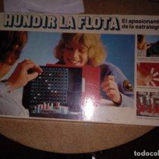 Juegos de mesa: JUEGO DE MESA HUNDIR LA FLOTA DE MB COMPLETO CON CAJA. Lote 221450646