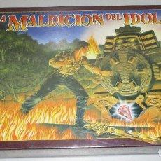 Juegos de mesa: JUEGO DE MESA LA MALDICIÓN DEL ÍDOLO MB 1990, NUEVO, PRECINTADO. Lote 221503692
