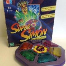 Juegos de mesa: SUPER SIMON ELECTRÓNICO - MB - 2001 *** HASBRO *** SIN INSTRUCCIONES.. Lote 221530577