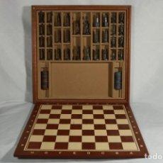 Juegos de mesa: AJEDREZ DE MADERA DE COLECCIONISTA. Lote 221611940