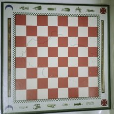 Juegos de mesa: TABLERO AJEDREZ ARAGONÉS. Lote 221619361