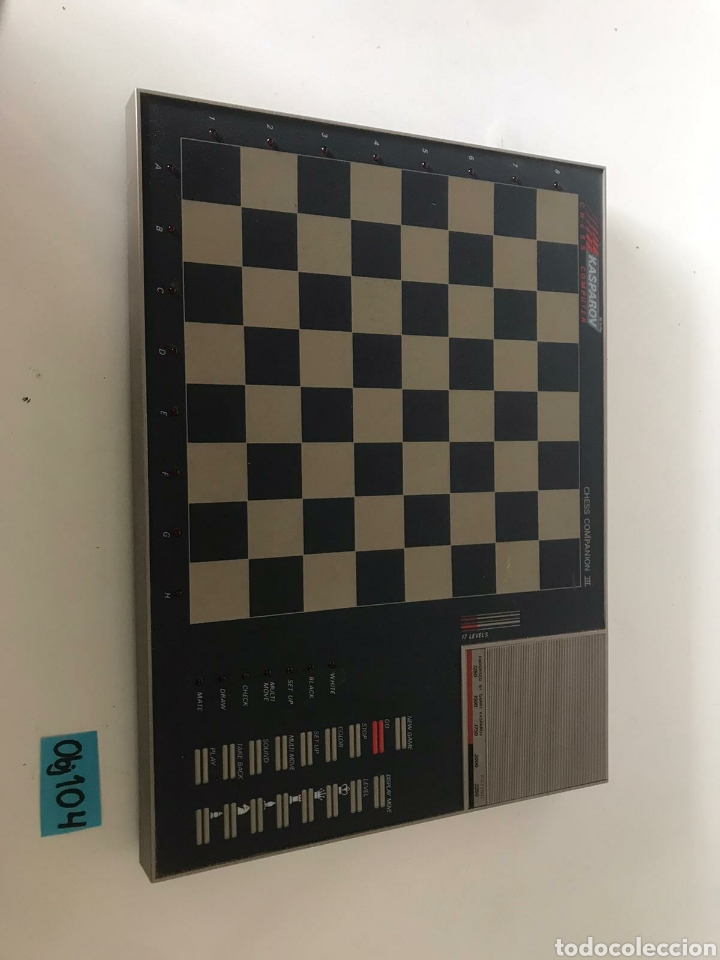 JUEGO DE AJEDREZ ELECTRÓNICO (Juguetes - Juegos - Juegos de Mesa)