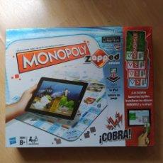 Juegos de mesa: JUEGO - MONOPOLY ZAAPED - JUEGO EN FAMILIA. Lote 221669811