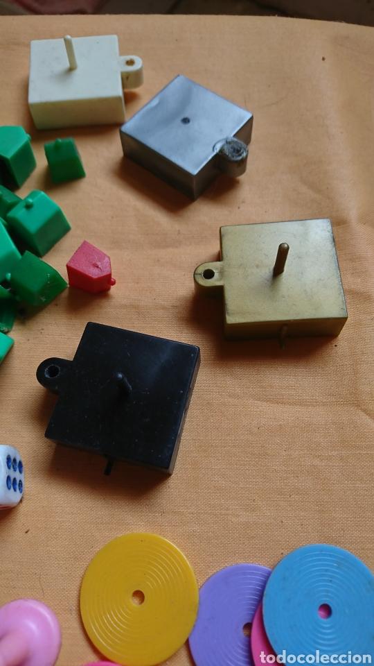 Juegos de mesa: Lote 136,fichas,figuras,de viejos juegos de mesa, uno party y co - Foto 5 - 221691351