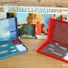 Juegos de mesa: HUNDIR LA FLOTA - MB JUEGOS - COMPLETO - AÑO 1981. Lote 222135807