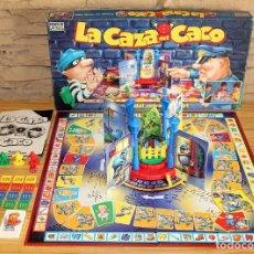 Juegos de mesa: LA CAZA DEL CACO - PARKER - COMPLETO - CON INSTRUCCIONES - AÑO 1994. Lote 222138698