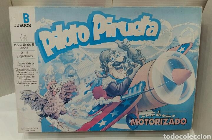 PILOTO PIRUETA. MB. NUEVO EN CAJA. SIN ESTRENAR. 1993. HASBRO. EL JUEGO DEL AVIÓN MOTORIZADO. (Juguetes - Juegos - Juegos de Mesa)