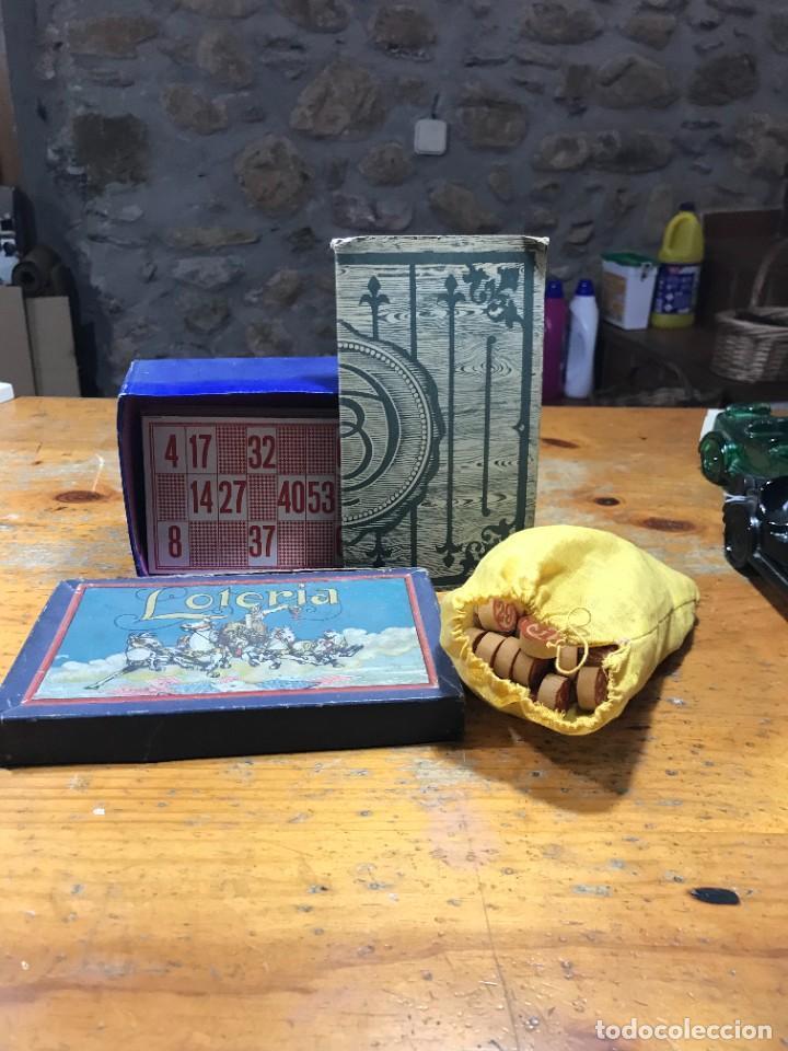 ANTIGUO JUEGO LOTERIA (Juguetes - Juegos - Juegos de Mesa)