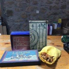 Juegos de mesa: ANTIGUO JUEGO LOTERIA. Lote 222486067