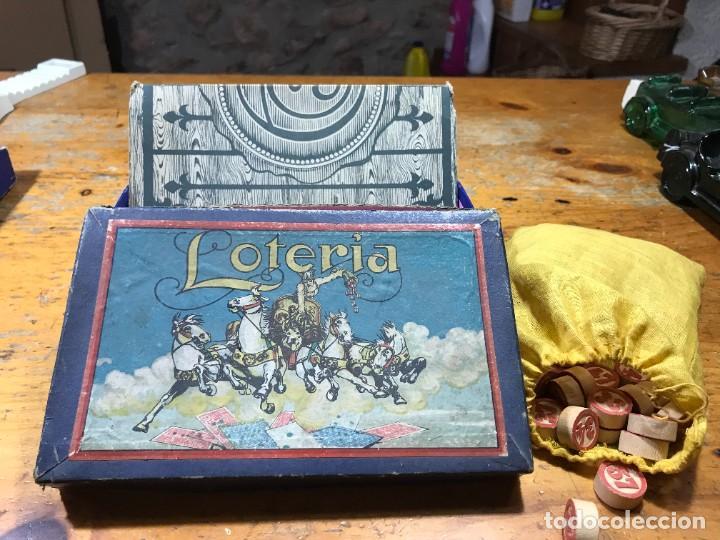 Juegos de mesa: Antiguo Juego loteria - Foto 2 - 222486067