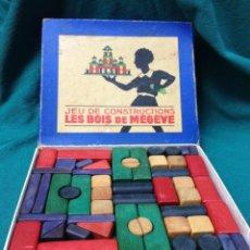 Juegos de mesa: ANTIGUO JUEGO DE CONSTRUCCION. Lote 222487246